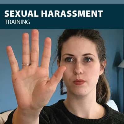 sexual harassment training certification