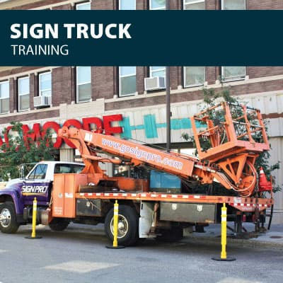 sign truck training certification