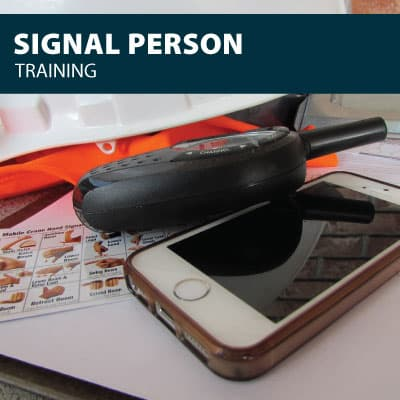 signal person training certification