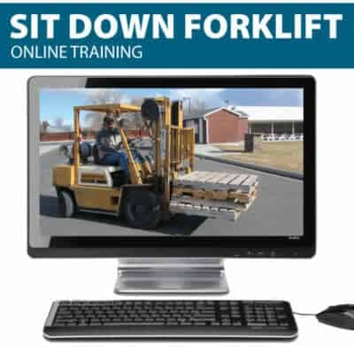 Online Sit Down Forklift Training Online - Forklift Driver Training - Learn Forklift Safety Rules