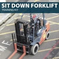 Sit Down Forklift Training Kit