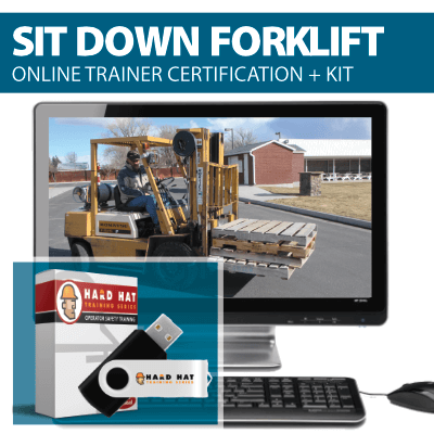 Sit Down Forklift Train the Trainer Certification