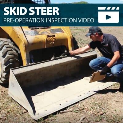 Skid Steer Pre-Operation Inspection Walkaround Training Video