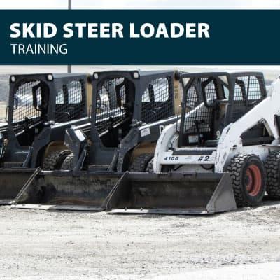 skid steer training certification