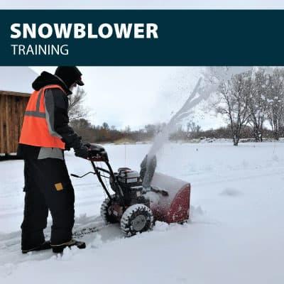 snowblower training certification