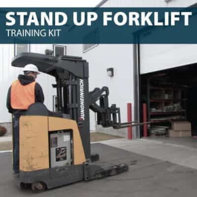 Stand Up Forklift Training Kit by Hard Hat Training