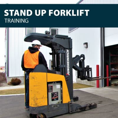 stand up forklift training certification