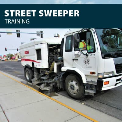 street sweeper training certification