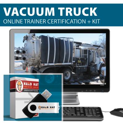 Vacuum Truck Train the Trainer Certification